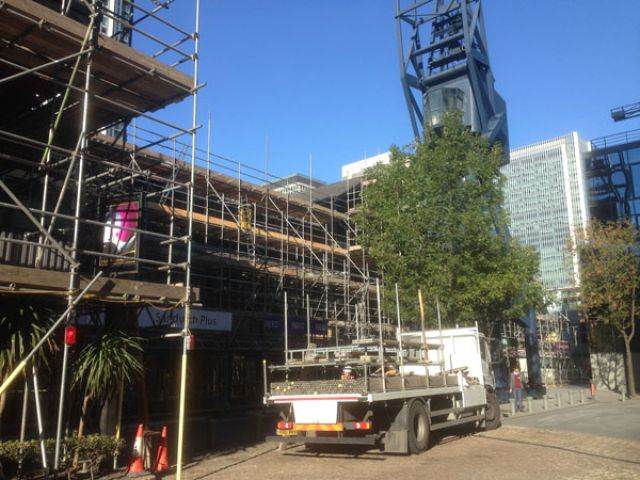 commercial scaffolding Mitcham, Wandsworth, Surrey, Sussex, Greater London