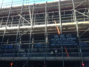 commercial scaffolding mitcham